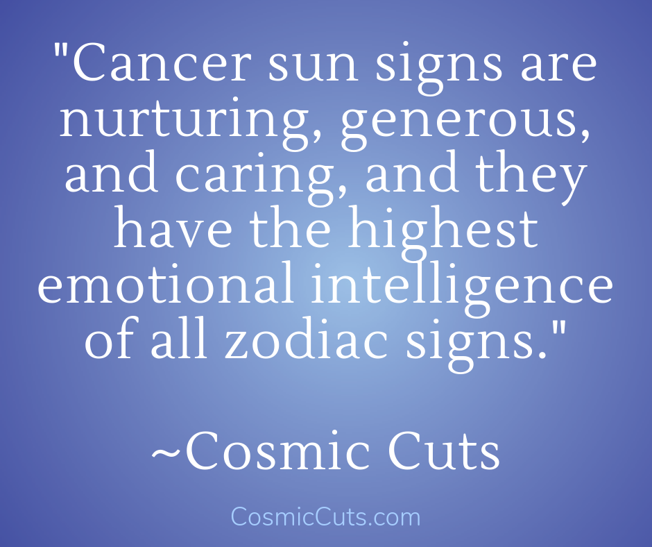Cancer Crystals Sun Sign