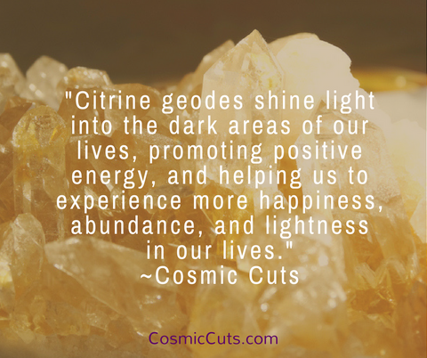 Citrine Geode Benefits