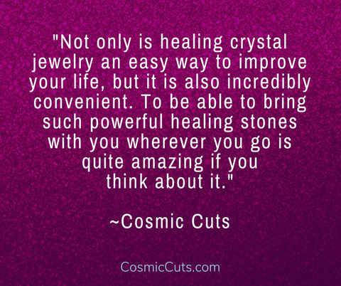 How to Wear Healing Crystal Jewelry for Best Results | Cosmic Cuts©