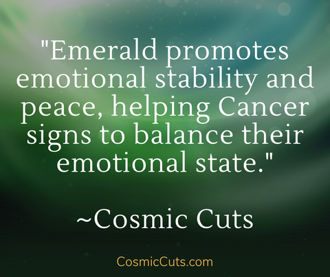 Emerald for Cancer Signs