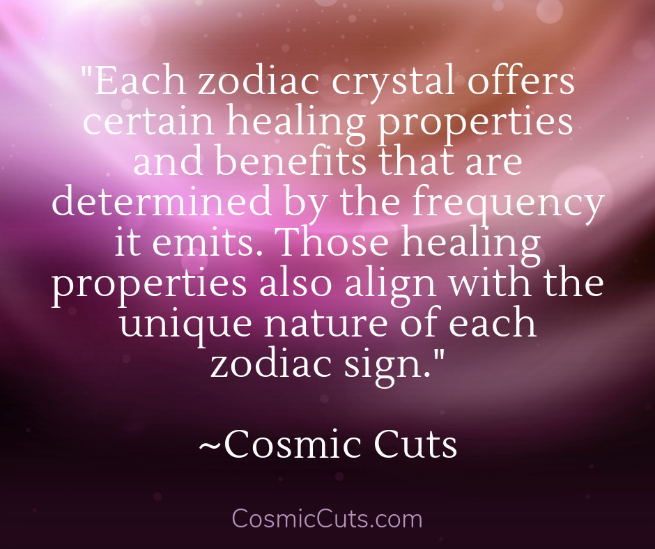 How Zodiac Crystals Work