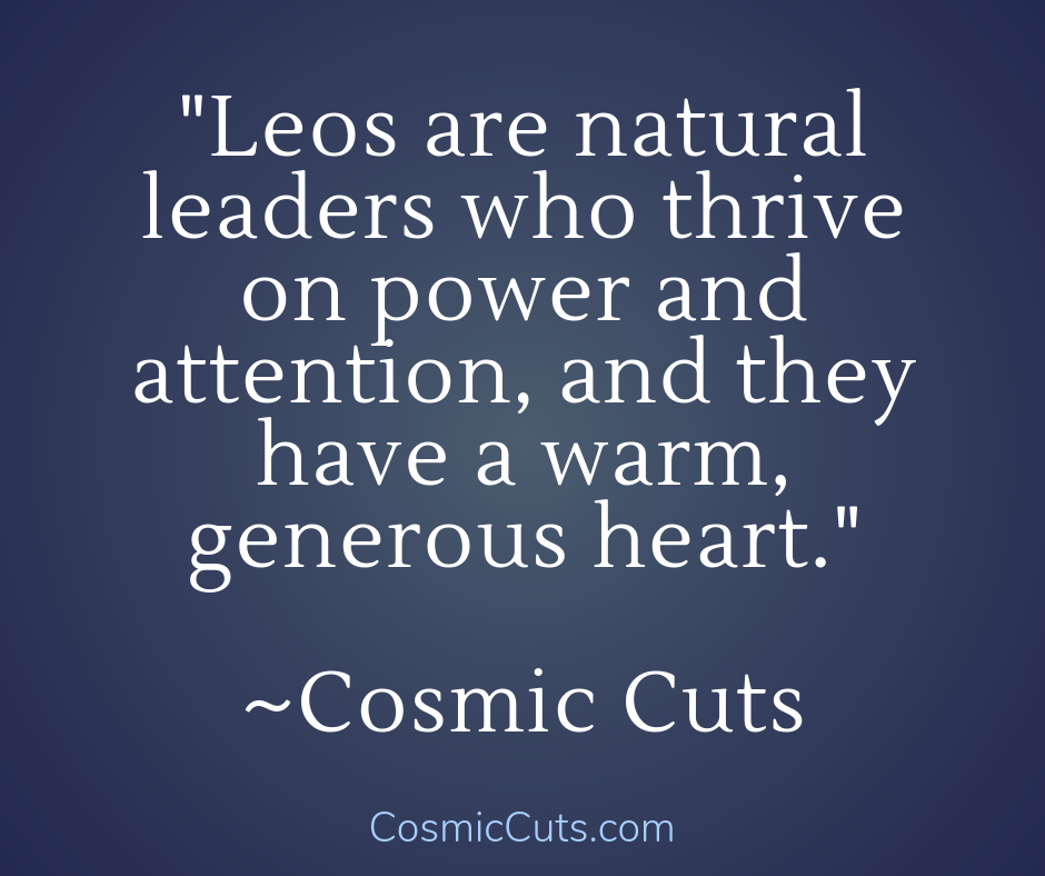 Leos Crystals for Natural Leaders