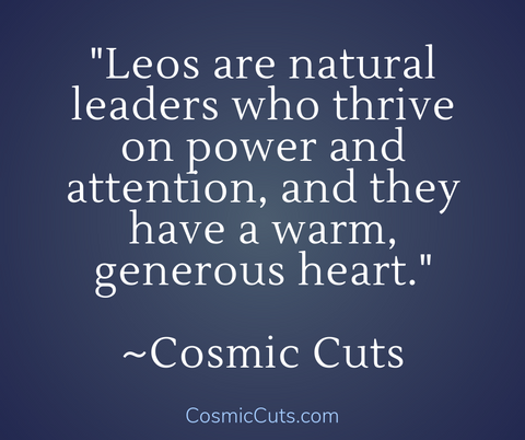 Leos Natural Leaders