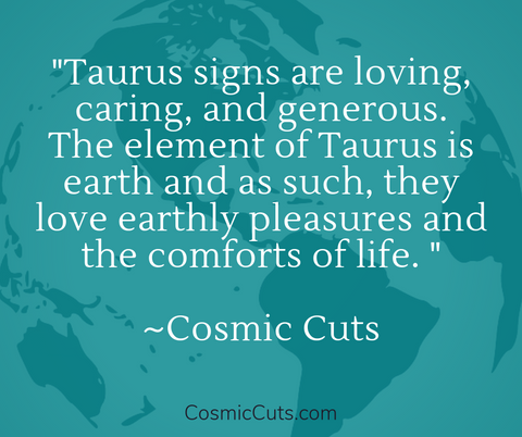 Taurus Crystals and Earth Element