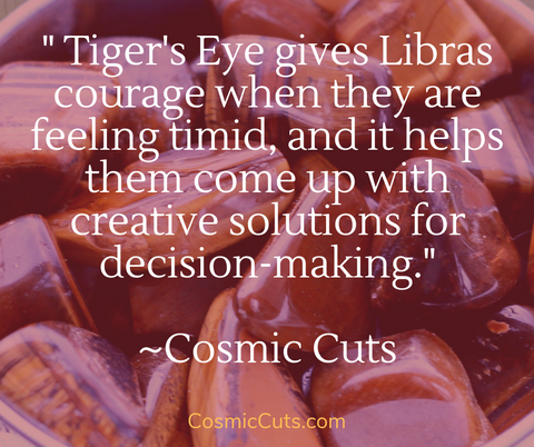 Tiger's Eye for Libra