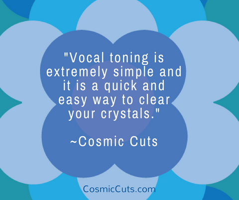 Vocal Toning to Clear Crystals