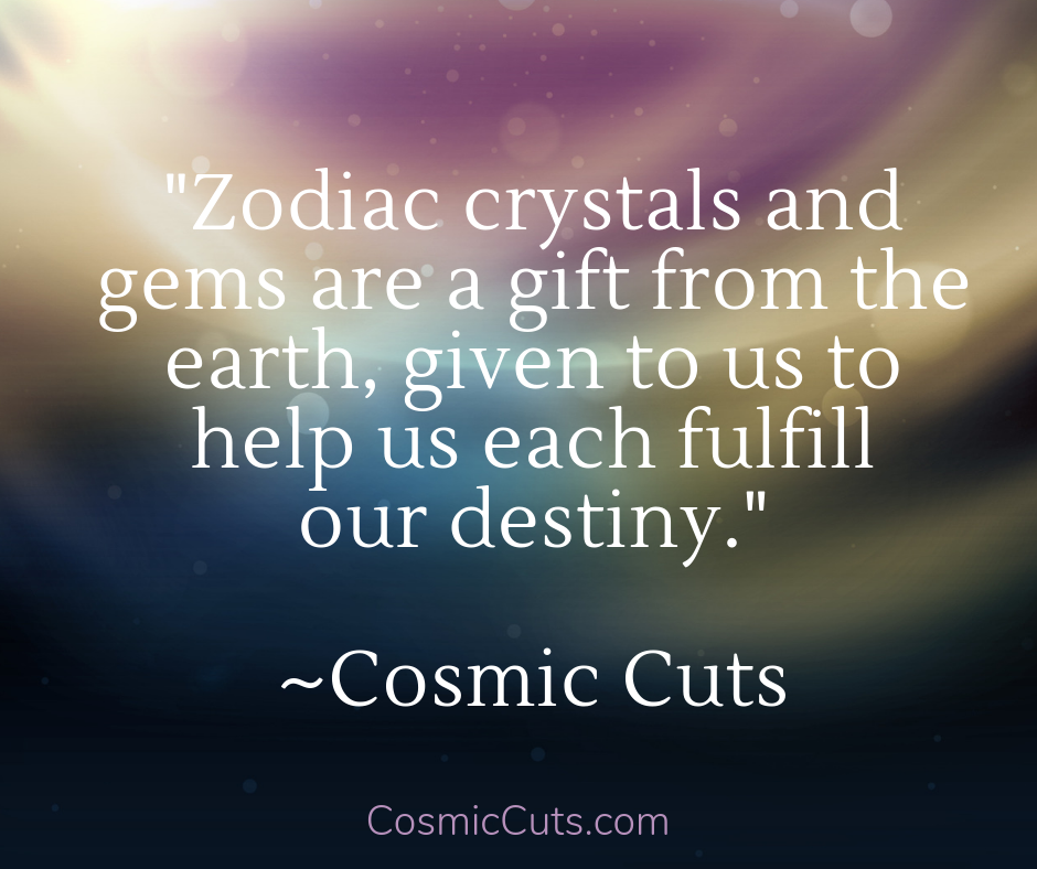 Zodiac Crystals and Gems
