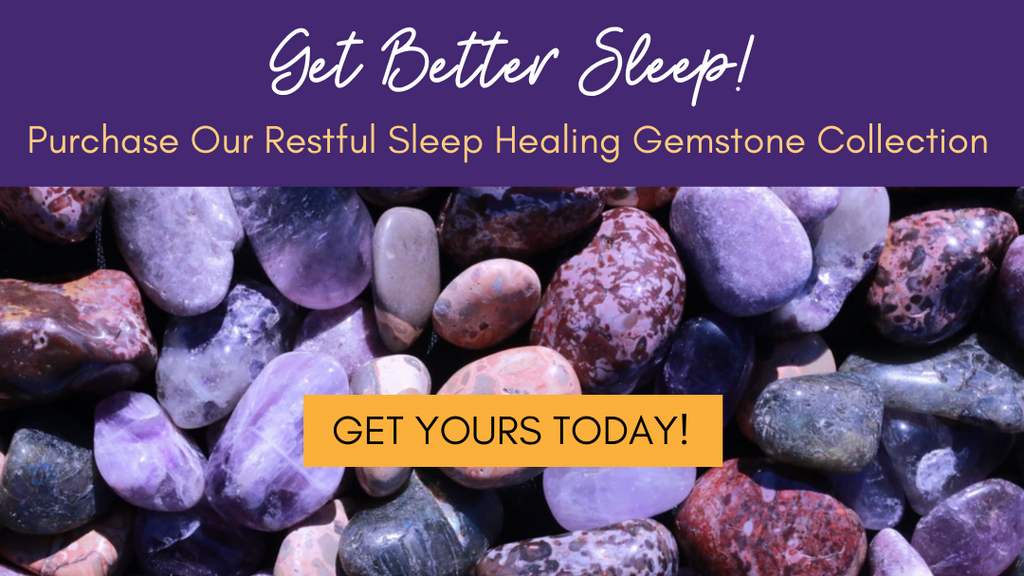 Restful Sleep Healing Gemstone Collection