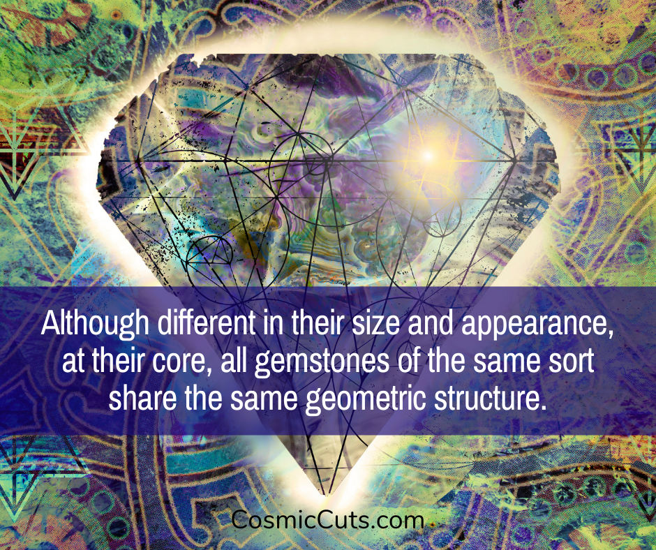 Sacred Geometry in Crystals