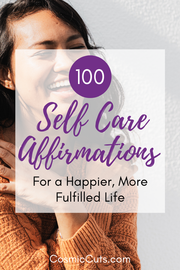 Self Care Affirmations
