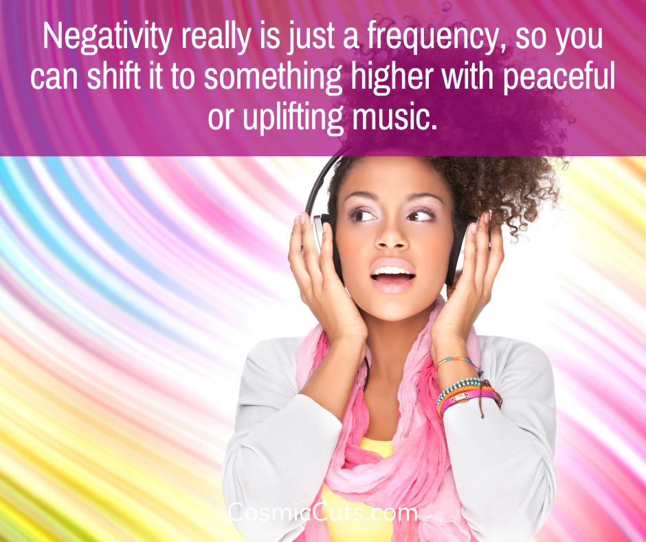 Shift Negative Energy With Music