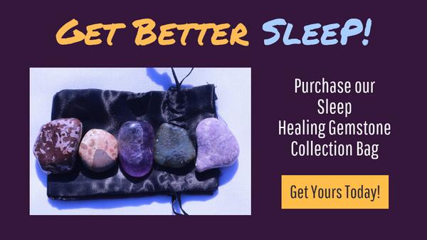 Crystals for Sleep: 5 Stones for Insomnia, Nightmares