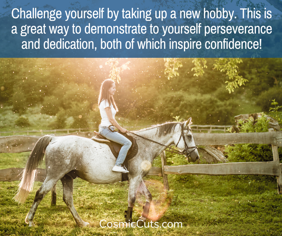 Try a new hobby for self care