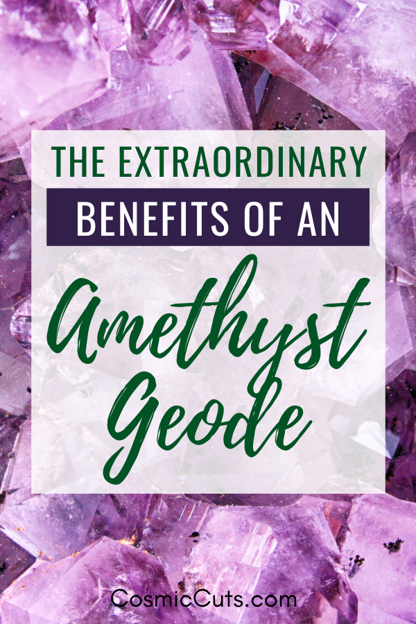 Why Amethyst Geodes are Beneficial