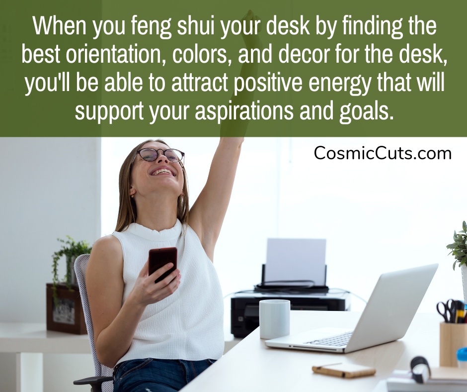 feng shui your desk for career success