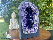 "Amethyst Geode ""DARK PURPLE DELIGHT"" 10.00 Cathedral High Quality NS-91"