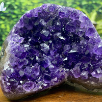 "Amethyst Geode ""CAMILLE THE BEAUTIFUL"" SUPER High Quality Uruguay 3.00 Self Standing NS-66"