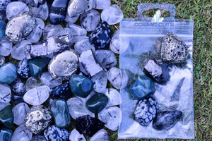 """EMF Protection Stones Bag"" Premium Quality Healing Gemstone Collection for Electromagnetic Frequencies"