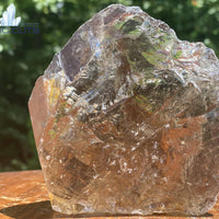 Smoky Quartz HIGH QUALITY Hematite Oxidation RARE GIFT FROM MOTHER NATURE