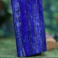 Massive High Quality Lapis Lazuli w Pyrite 14.00 Self Standing Rare Mineral II-58s