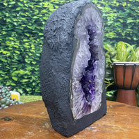"Amethyst Geode ""INCREDI-GEODE"" 10.00 High Quality Lustrous Beauty NS-127"