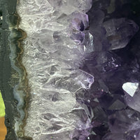 "Amethyst Geode ""ANOTHER DIMENSION"" 9.00 Cathedral Brazil High Quality NS-134"