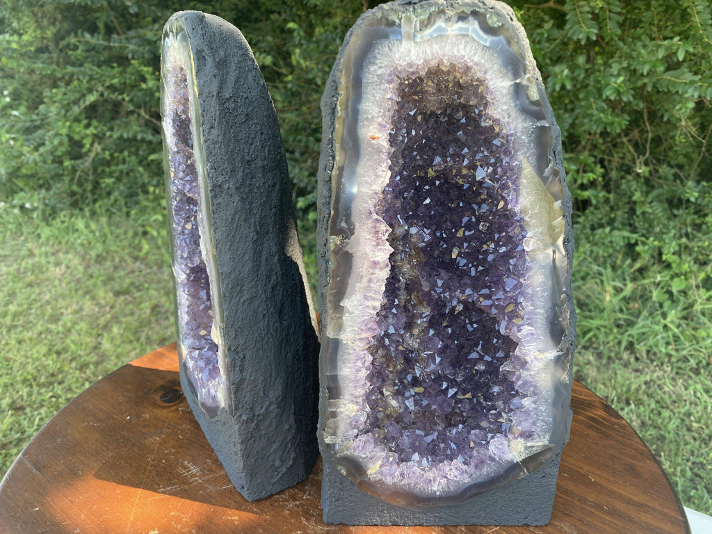 Amethyst Geode High Quality 12.75 Crystal BB-199