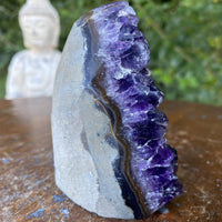 "High Quality Amethyst Geode ""DROPLET OF BLISS"" 3.00 Uruguay Crystal Cluster NS-198"
