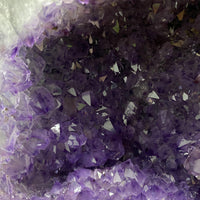 "DEEP Amethyst Geode ""FENG SHUI PERFECTION"" 9.00 High Quality Brazil Cathedral NS-201"