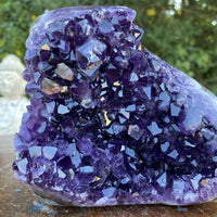 """CONNECTION"" Amethyst Geode 4.00 Uruguay High Quality Self Standing Cluster NS-234"