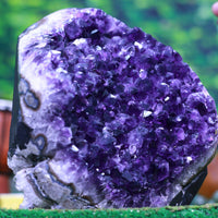 Huge Round Amethyst Geode 9.00 Large Crystal Points High Quality QQ-4s