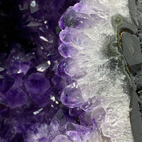 """FLOWER DELIVERY"" High Quality Amethyst Geode 8.00 Cathedral Flower Formations NS-272"