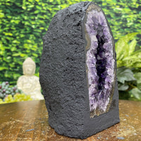 """YOUR LITTLE PAL"" High Quality Amethyst Geode Cathedral 6.00 Brazil Crystal NS-282"