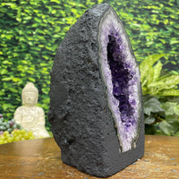 """RAINBOW ROAD"" High Quality Amethyst Geode 7.00 Rainbow Prisms NS-285"