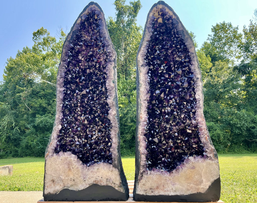 Deep Amethyst Geode Cathedral 11.25 Crystal BB-11