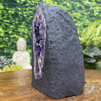 """THE BIG DIG"" Amethyst Geode Dark Purple 6.00 High Quality Brazil Cathedral NS-291"