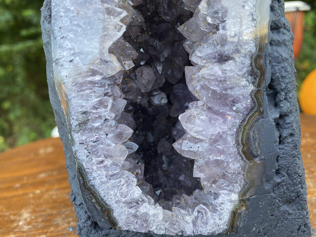 Amethyst Geode Cathedral 14.50 Crystal Church CC-5