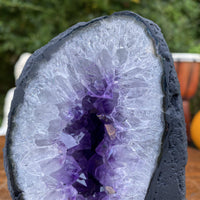 """MYSTERIES OF THE UNIVERSE"" Amethyst Geode 5.00 High Quality Brazil Cathedral NS-343"