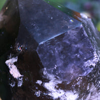 Huge Smoky Quartz Point 10.00 High Quality Rainbow Prisms QQ-58s