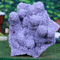 Huge Druzy Spirit Amethyst Geode Museum Specimen 16.50 Very High Quality RR-46s