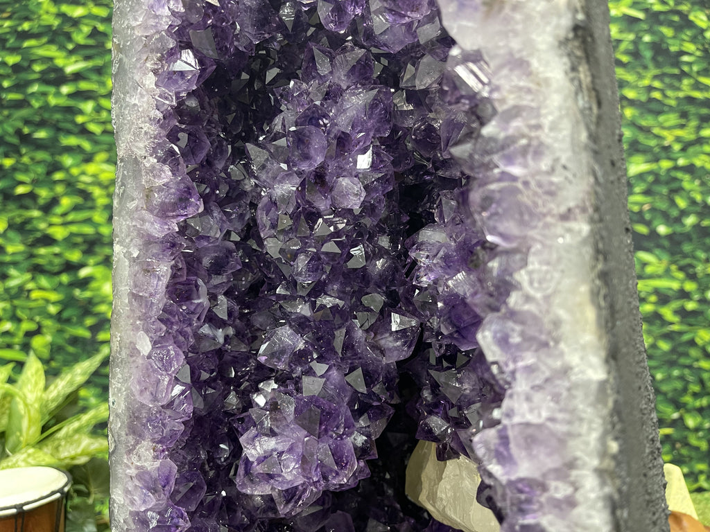 Huge Amethyst Geode Cathedral 24.00 Rare Mineral FF-42