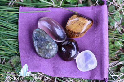 Wealth Healing Gemstone Collection Set