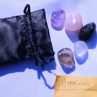 """Happiness"" Healing Gemstone Collection Bag"