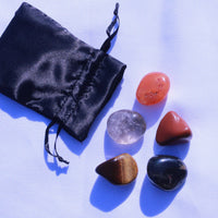 """Invigorating Energy"" Healing Gemstone Collection Bag"