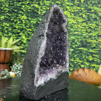 """VIBRATION OF THE UNIVERSE"" Amethyst Geode Cathedral 11.00 Brazil High Quality NS-430"