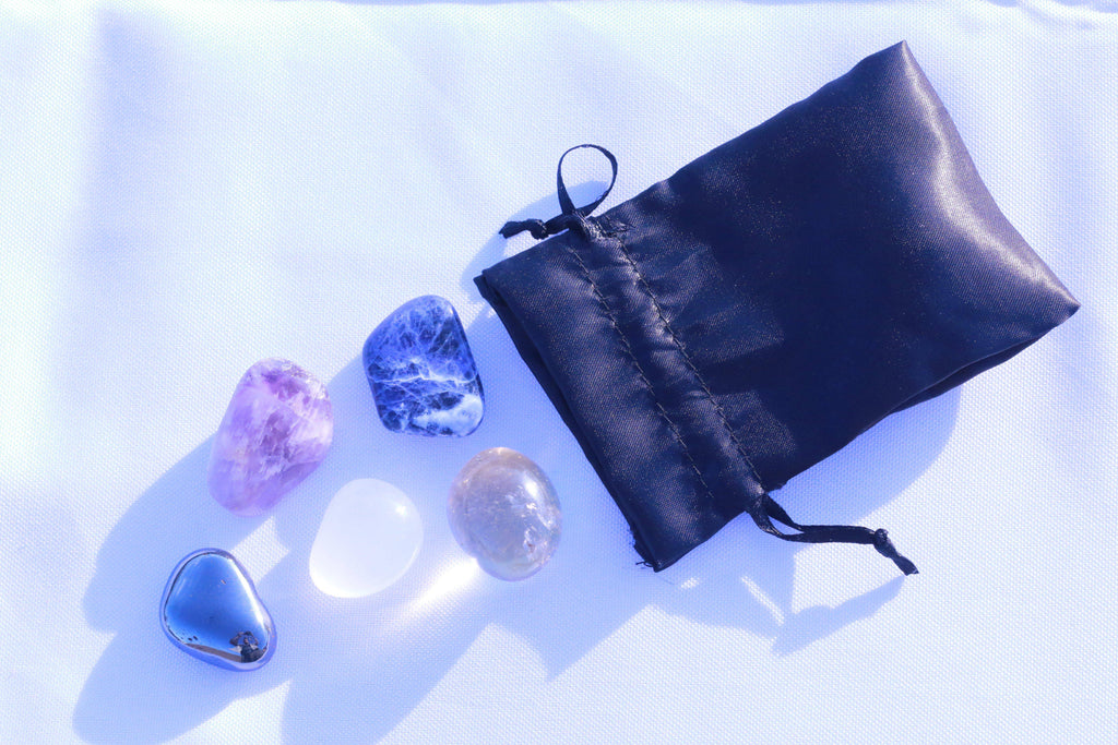 """Empowerment"" Healing Gemstone Collection Bag"