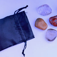 """Protection"" Healing Gemstone Collection Bag"