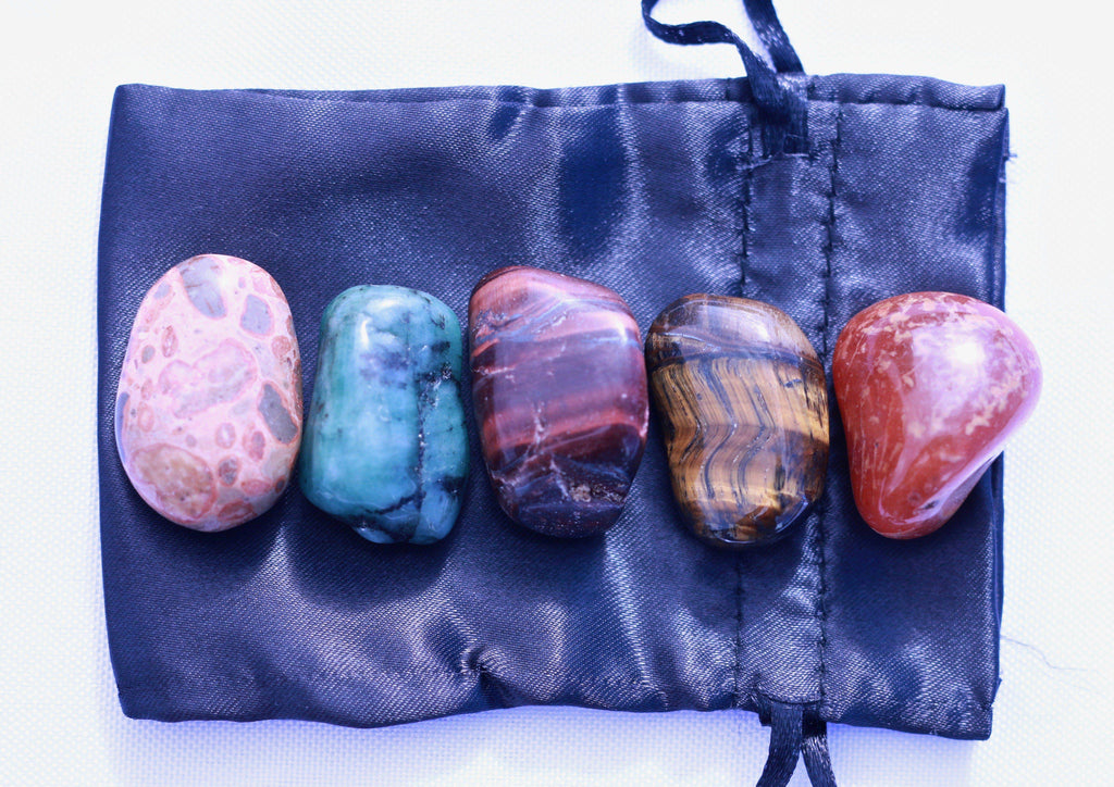 """Fertility"" Healing Gemstone Collection Bag"