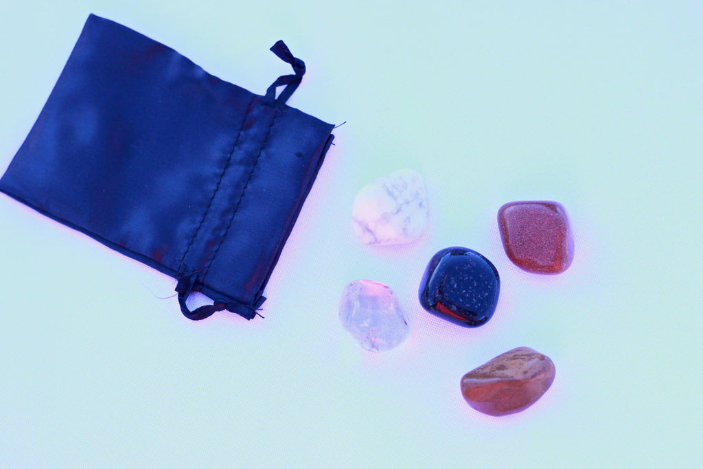 """Weight Loss"" Healing Gemstone Collection Bag"