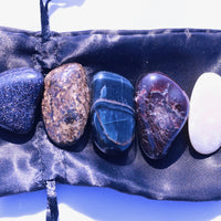 """Confidence"" Healing Gemstone Collection Bag"